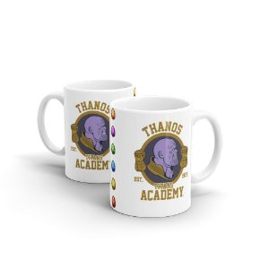 Caneca em Cerâmica Academia dos Titãs Thanos - 350 ml - 1 unid.