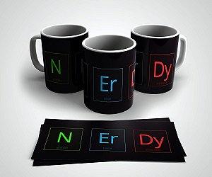 Caneca em Cerâmica Nerdy - 350 ml - 1 unid.