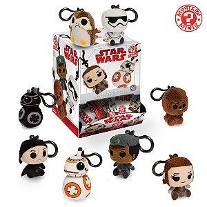 Chaveiros Funko de Pelúcia Star Wars Os Últimos Jedi - Escolha seu Personagem!