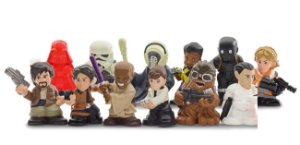 Coleção Completa Star Wars Micro Force Mini Figures Série 4 - 12 Miniaturas!