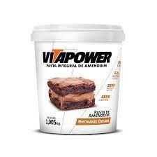 Vita Power Brownie Cream 1,005kg - Pasta de Amendoim