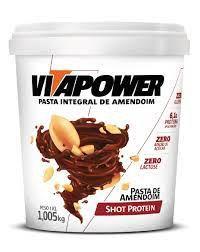 Vita Power Shot Protein 1,005kg - Pasta de Amendoim