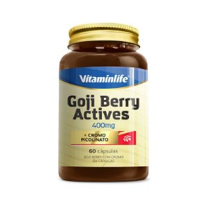 GOJI BERRY ACTIVES - 60 CAPS - VITAMINLIFE