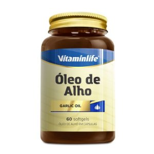 OLEO DE ALHO 250MG - 60 CAPS - VITAMINLIFE