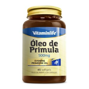 OLEO DE PRIMULA 500MG - 45 CAPS - VITAMINLIFE