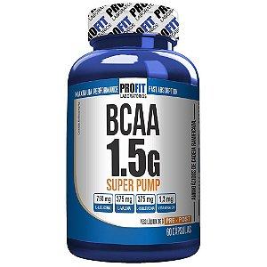 BCAA 1.5g Super Pump - Profit - 60capsulas