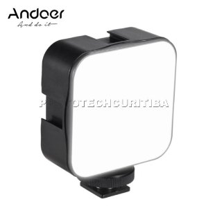 Iluminador de Led Andoer D75096 49led 6500k 800lm