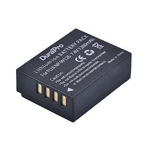 Bateria Fujifilm NP-W126 DuraPro 1260mah 7.4v