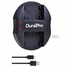 Carregador de Bateria Sony NP-FV70 Duplo DuraPro