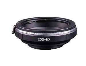 Adaptador de Lente Canon EOS Para Samsung EOS-NX