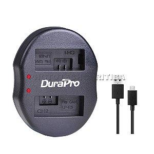 Carregador de Bateria Canon LP-E5 Duplo DuraPro Modelo LC-E5
