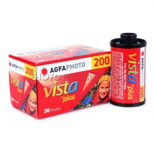 FILME FOTOGRÁFICO AGFA PHOTO 36 POSES ISO 200 VISTA PLUS
