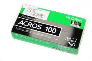 FILME FUJIFILM 120mm NEOPAN ACROS 100 PB