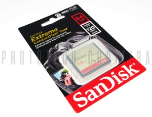 CARTÃO CF SANDISK EXTREME 64GB 120 MB/s