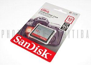 CARTÃO CF SANDISK ULTRA 32GB 50 MB/s