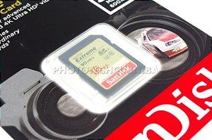 CARTÃO SD SANDISK EXTREME 16GB  CLASS 10 90 MB/s SDHC UHS-I 4K ORIGINAL LACRADO