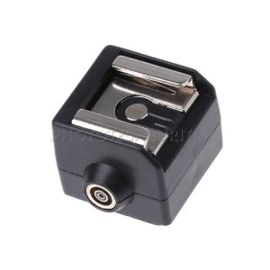ADAPTADOR DE SAPATA HOT SHOE SC-2 (FLASH UNIVERSAL - PC-SYNC)