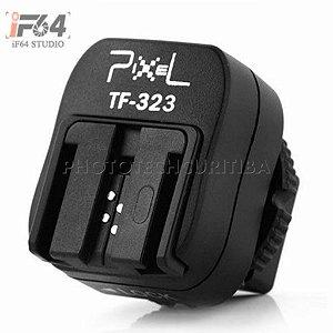 ADAPTADOR DE SAPATA PIXEL TF-323 TTL (SONY - PC-SYNC)