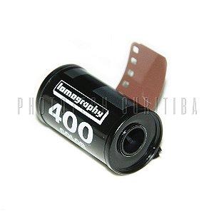 FILME FOTOGRÁFICO LOMOGRAPHY 36 POSES ISO 400 COLORIDO