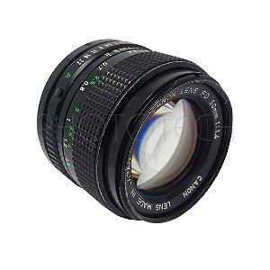 OBJETIVA CANON 50mm f/1.4