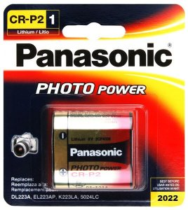 BATERIA PANASONIC CR-P2