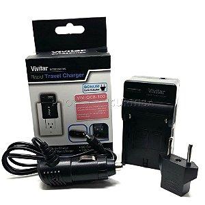 Carregador de Bateria Sony NP-FM Vivitar Modelo BC-VM10