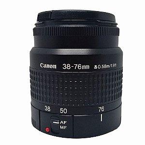 OBJETIVA CANON 38-76mm f/4.5-5.6 EF