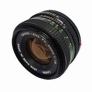 OBJETIVA CANON 50mm f/1.8
