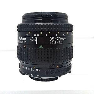 OBJETIVA NIKON 35-70mm f/3.3-4.5 AF NIKKOR