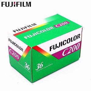FILME FUJIFILM 36 POSES ISO 200 FUJICOLOR C200