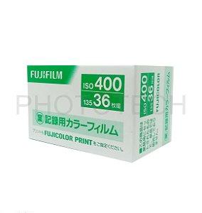 FILME FUJIFILM 36 POSES ISO 400 INDUSTRIAL