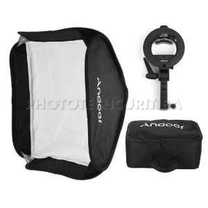 SOFT BOX 80x80 PARA FLASH DEDICADO S-TYPE BOWENS