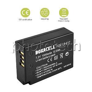 BATERIA CANON LP-E17 BONACELL 1500mAh 7.2V