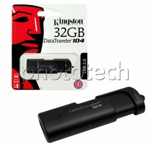 PEN DRIVE KINGSTON DATATRAVELER 104 32GB USB 2.0 ORIGINAL LACRADO