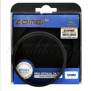 Filtro CPL 55mm Zomei polarizador