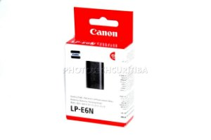 BATERIA CANON LP-E6N ORIGINAL LACRADO 1865mAh 7,2V