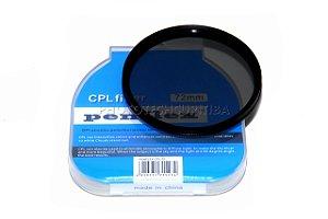 FILTRO CPL 72mm PENFLEX (GREEN.L) POLARIZADOR