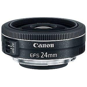 Lente Canon 24mm EFS f/2.8 STM Lacrada