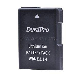 Bateria Nikon EN-EL14 DuraPro 1200mAh 7.4V