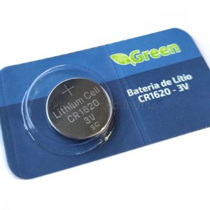 Bateria CR1620 Lithium Green 3V
