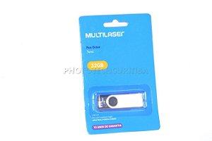 Pen Drive Multilaser Twist 32GB USB 10MB/s PD589 Original Lacrado