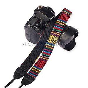 Alça Para Câmera Fotográfica DSLR Lynca LYN-205