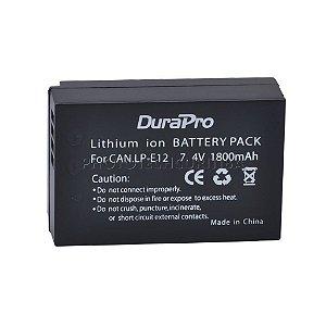 Bateria Canon LP-E12 DuraPro 1800mAh 7,4V