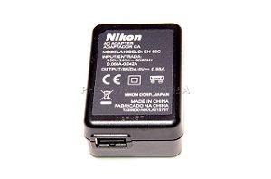 Carregador de Bateria Nikon Fonte EH-69P EH-68P Original