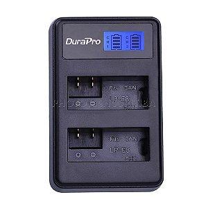 Carregador de Bateria Canon LP-E8 Digital Duplo DuraPro Modelo LC-E8C