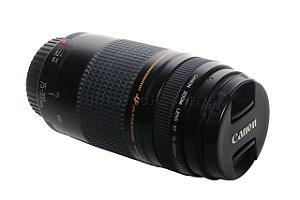 Objetiva Canon 75-300mm EF F/4-5.6 Ii USM Ultrasonic Semi Novo