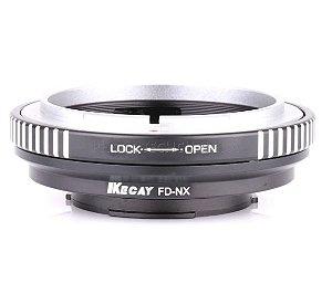Adaptador de Lente Canon FD Para Samsung FD-NX