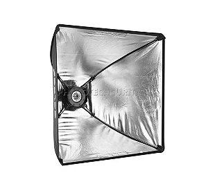Softbox 40x40 Com Soquete Simples Greika Para Estúdio Fotográfico