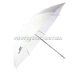 Sombrinha 84cm Difusora Branca Greika YU304-84 Para Estúdio Fotográfico