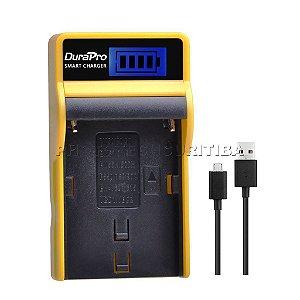Carregador de Bateria Sony NP-F550/F570/F770/F950/F970 Digital DuraPro